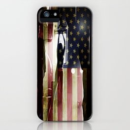 Casting Long Shadows iPhone Case