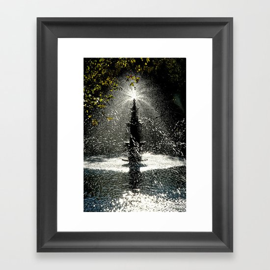 Tears of Zeliha Framed Art Print