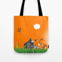What's going on in the jungle? Kids collection Tote Bag