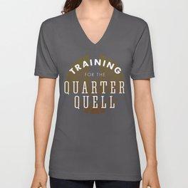 Training: Quarter Quell Unisex V-Neck