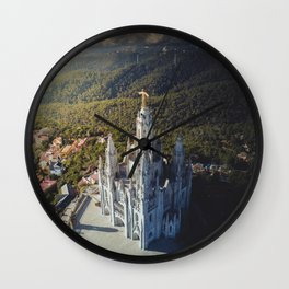 Temple of the Sacred Heart of Jesus Wall Clock