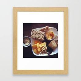 guests Framed Art Print