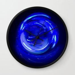 Electric Mandala 1 Wall Clock