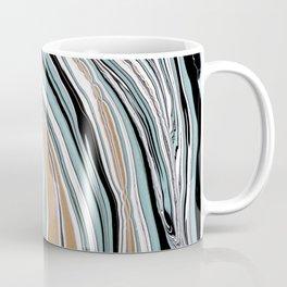 Teal Scape Coffee Mug
