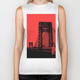 George Washington Bridge Biker Tank