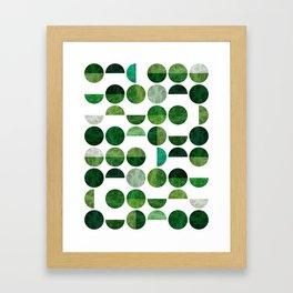 Geometric Pattern VII Framed Art Print