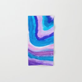 AGATE Inspired Watercolor Abstract 11 Hand & Bath Towel