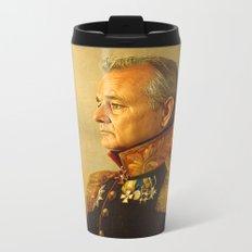 Bill Murray - replaceface Metal Travel Mug