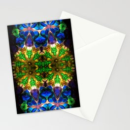 Kaleido: Blue, Green, Yellow Stationery Cards