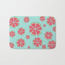 Watermelon flowers Bath Mat