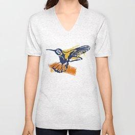 Hummingbird - Colour Unisex V-Neck