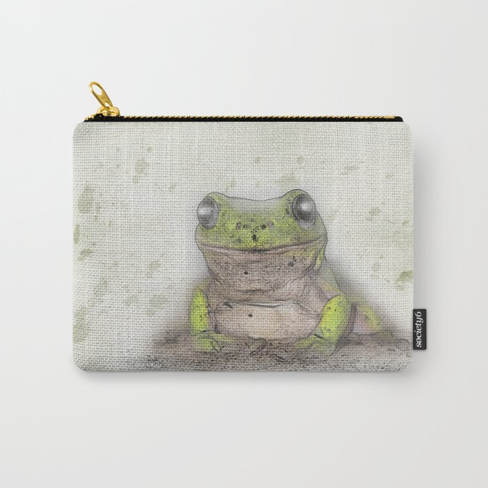 Jeremiah was a bullfrog Carry-All Pouch