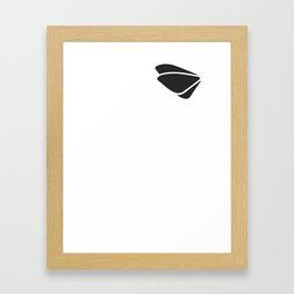 Grey - tryout Framed Art Print