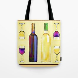 Let's Have Some Wine Tote Bag