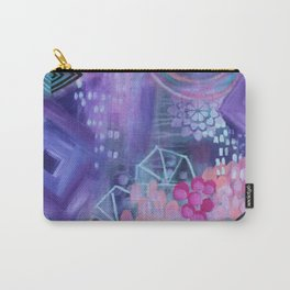 Dream in Purple Carry-All Pouch