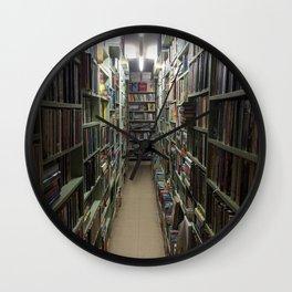A Book Lovers Heaven Wall Clock