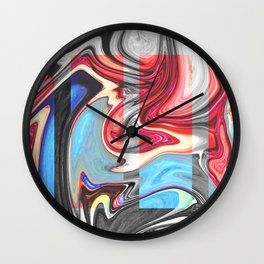 SNARL - BLACK Wall Clock