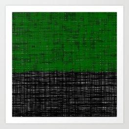 platno (green) Art Print