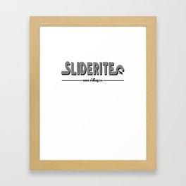 sliderite Framed Art Print