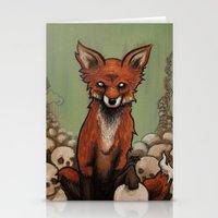 emily rickard Stationery Cards featuring Emily by Jeff Prymowicz