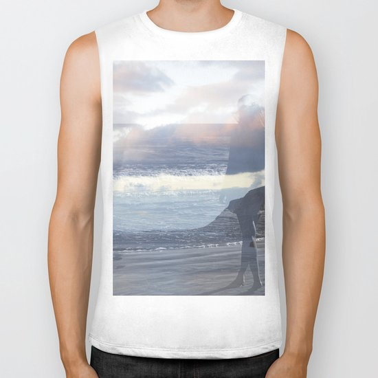 Into the Wave Biker Tank