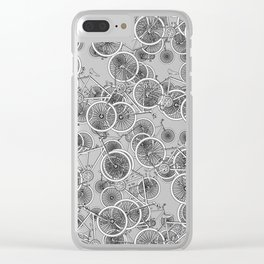 I Want to Ride My Bicycle Clear iPhone Case