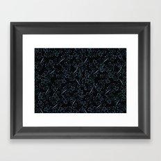 red dot branches Framed Art Print