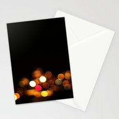 Bokeh Streetlights Stationery Cards