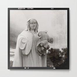 The Virgin Mother And Jesus Metal Print