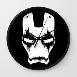 Black Iron Wall Clock