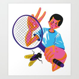 Cool Boy Kentaro Art Print