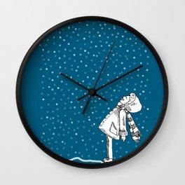 Snoweater Wall Clock