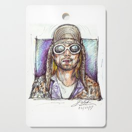 Cobain Cutting Board