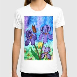 Iris at Sunrise T-shirt