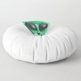 Alien Uncle Funny UFO Extraterrestrial Space Floor Pillow