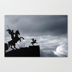 Warriors of time Canvas Print