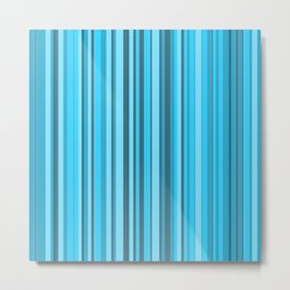 Stripe obsession color mode #7 Metal Print