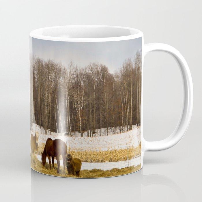 Peshtigo Horses Coffee Mug