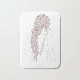 ROSEBRAID Bath Mat