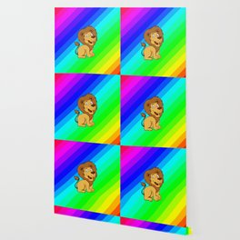 baby toon lion Wallpaper