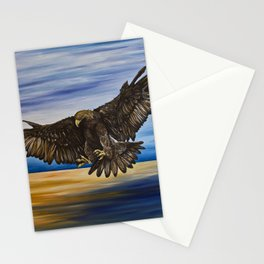 The Golden Eagle Stationery Cards