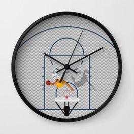 Dunkers | Basketball Court  Wall Clock