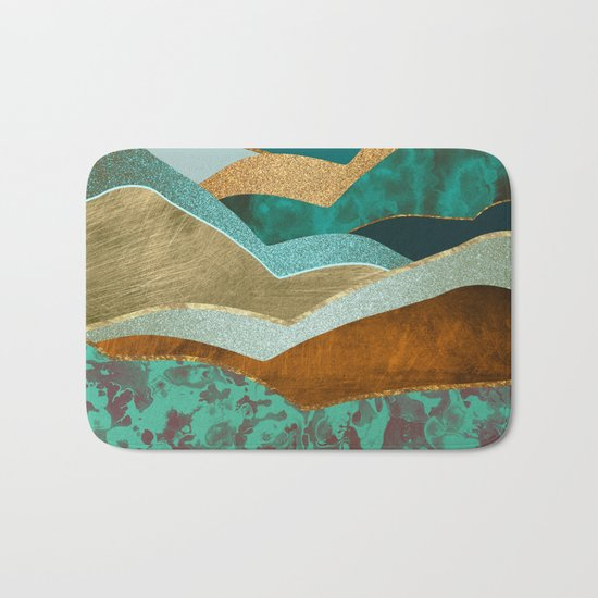 Golden Hills Bath Mat