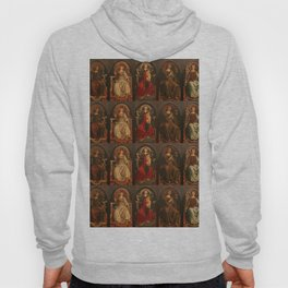 """Sandro Botticelli and Piero del Pollaiolo """"Theological and cardinal virtues"""" Hoody"""