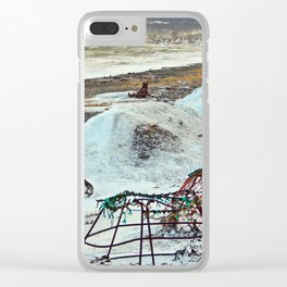 Crab Cages and The Cove Clear iPhone Case