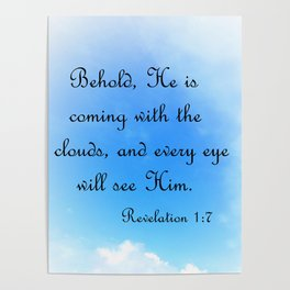 Behold He is Coming Poster