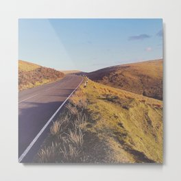 Mountain Road, TT Isle of Man. Metal Print