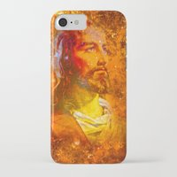 jesus iPhone & iPod Cases featuring Jesus by Saundra Myles