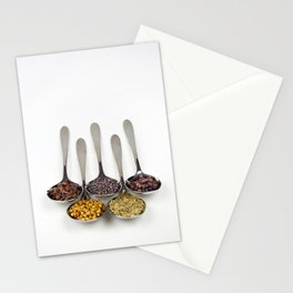 Curry Spices Stationery Cards