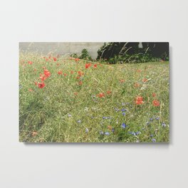 Monet's Flowers at Giverny Metal Print